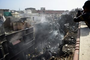 97 feared dead in Pakistan plane crash; PM Imran Khan expresses grief