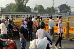 Delhi sees heavy traffic at borders on Day 1 of lockdown 4.0 amid relaxations