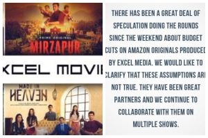 Excel Entertainment issues clarification in 'viewer's interest' on collaboration with OTT platform