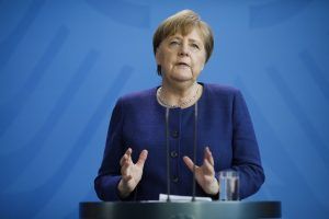 German Chancellor Merkel calls for global cooperation in COVID-19 vaccine development