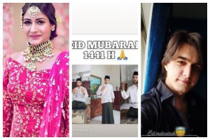 Surbhi Chandna, Mohsin Khan and other TV celebs wish their fans 'Eid Mubarak'