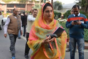 Harsimrat Kaur Badal holds video conference with promoters of 38 cold chain projects