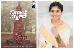 Virataparvam: Makers share special poster on actress Sai Pallavi's birthday