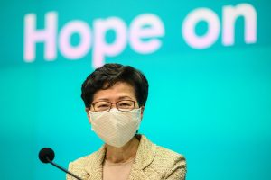 Hong Kong leader Carrie Lam announces relaxation of social distancing measures