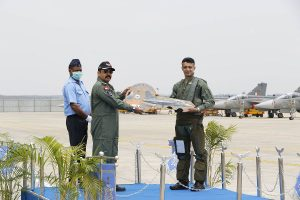 Indian Air Force inducts first LAC Tejas Mk-1 FOC aircraft