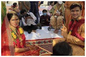 Watch   Nikhil Siddhartha ties knot with longtime girlfriend Pallavi amidst lockdown