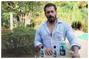 Salman Khan launches grooming care brand, says 'Sanitisers aa chuke hain'