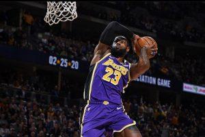 LeBron James to not wear social justice message on NBA restart