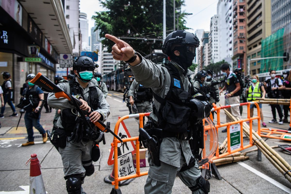 Hong Kong witnesses more protests over Chinese security law