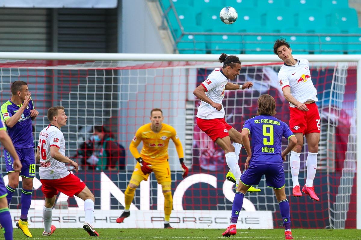 Rb Leipzig Title Hopes Hit By Freiburg Draw On Bundesliga Restart