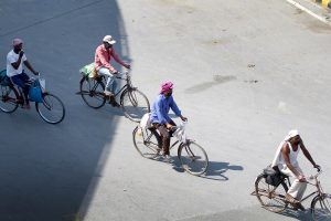 Migrant worker cycling back home from Delhi to Bihar run over by car in Lucknow as he took meal break