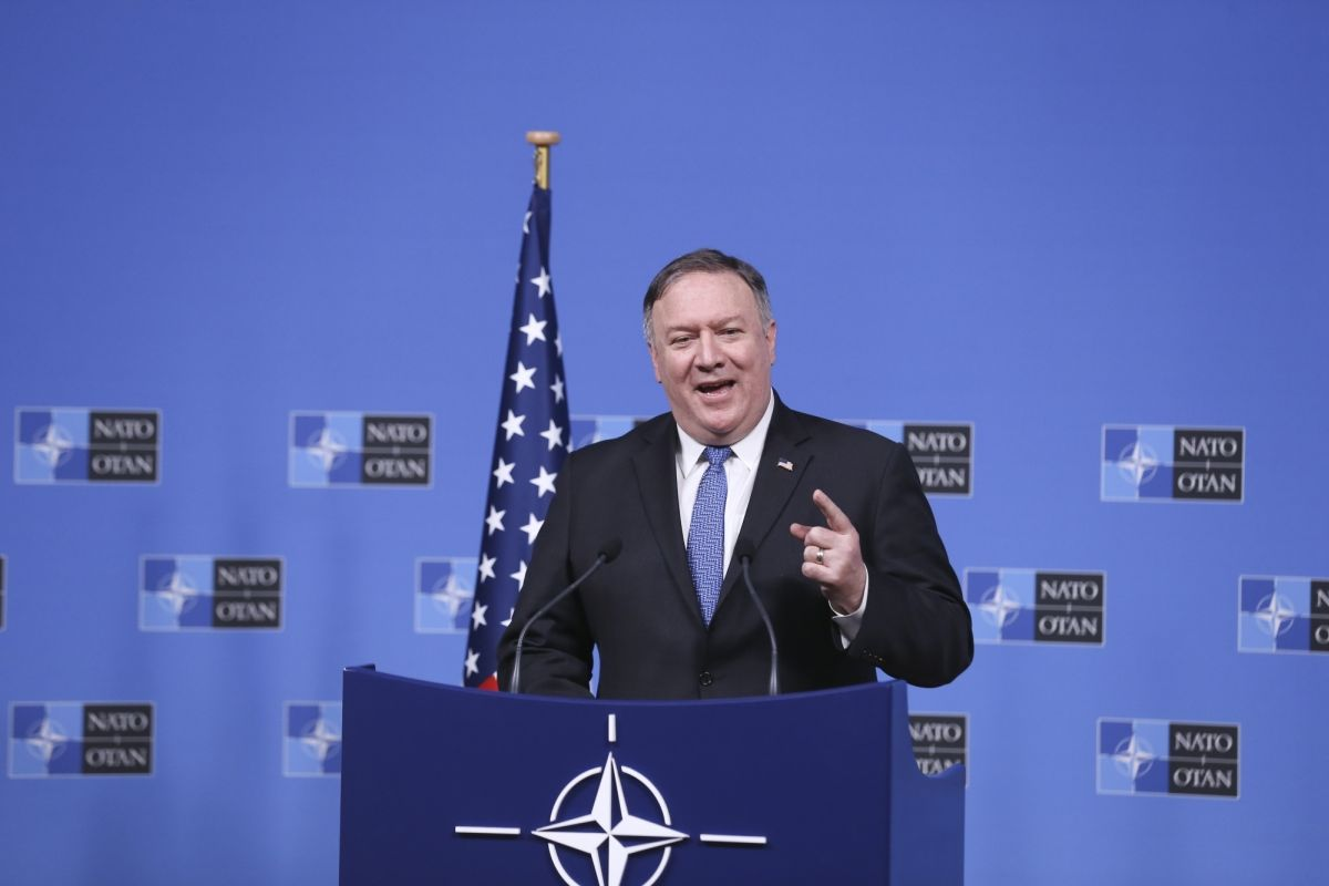 Pompeo goes to Israel, Mike Pompeo, Israel, Palestinian territories