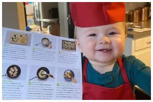 1-year-old chef sets Instagram on fire, gets 1.4 mn followers