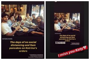 Parineeti Chopra gets nostalgic, shares 'days of no social distancing' pic with friends