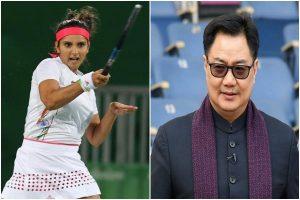 Kiren Rijiju congratulates Sania Mirza for winning Fed Cup Heart Award