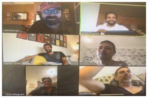 Nikkhil Advani gives virtual script narration to Akshay Kumar for 'Bell Bottom'