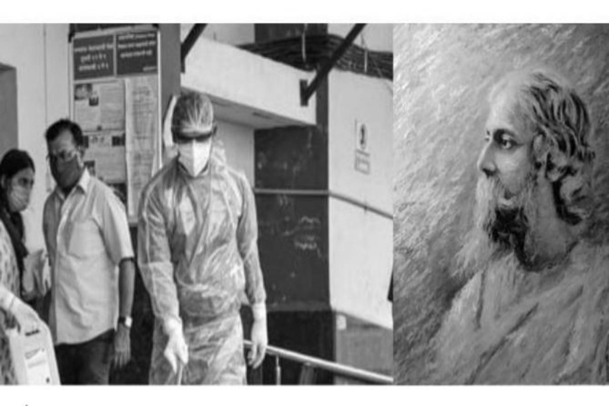 Rabindranath Tagore, Wilfred Owen, Aguner Parashmani, Covid-19 pandemic
