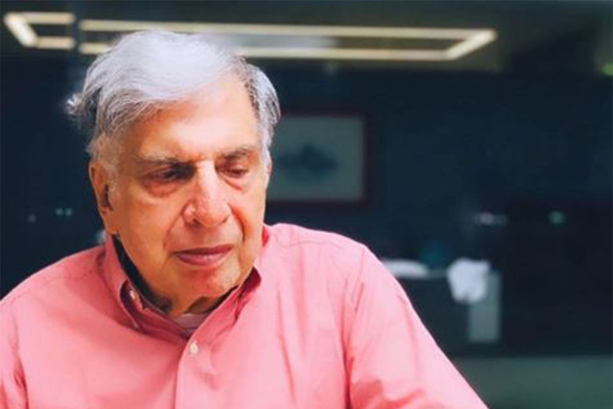 Ratan Tata says virus crisis will push entrepreneurs to adapt and create