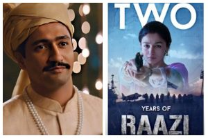 Alia Bhatt, Vicky Kaushal's Raazi completes two years; latter thanks Meghna Gulzar, Karan Johar for 'this beautiful story'
