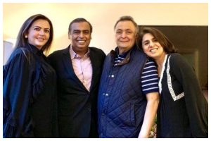 Neetu Kapoor thanks 'guardian angels' Mr and Mrs Ambani for their support during Rishi Kapoor's treatment; pens heartfelt note
