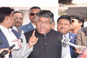 Ravi Shankar Prasad accuses Congress of shielding fugitive diamond merchant Nirav Modi