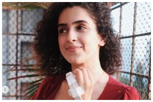 Sanya Malhotra is back after surgery to reconstruct her little finger amidst lockdown