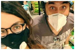 Lockdown diaries: Shraddha Kapoor goes for grocery shopping with her brother Siddhanth