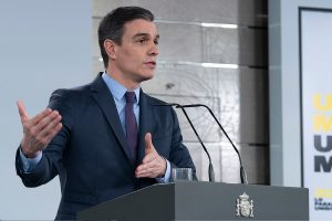 Spain PM Pedro Sanchez asks parliament for 2 more weeks of Coronavirus lockdown