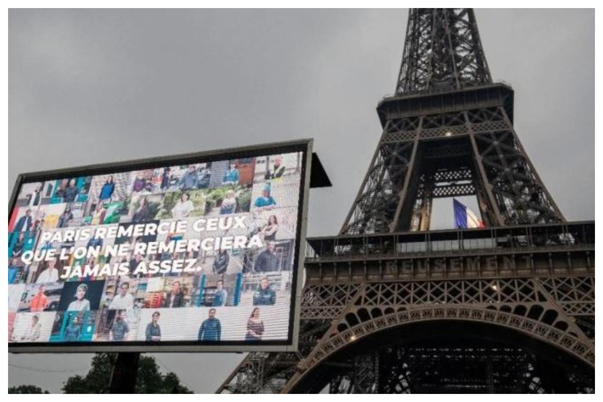 Eiffel Tower, Frontline warriors