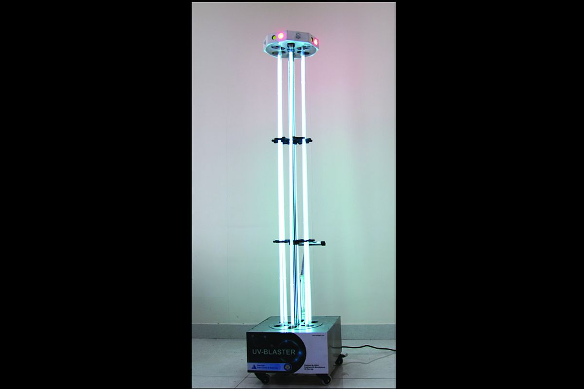 DRDO develops UV disinfection tower helpful to fight Covid-19 in ...