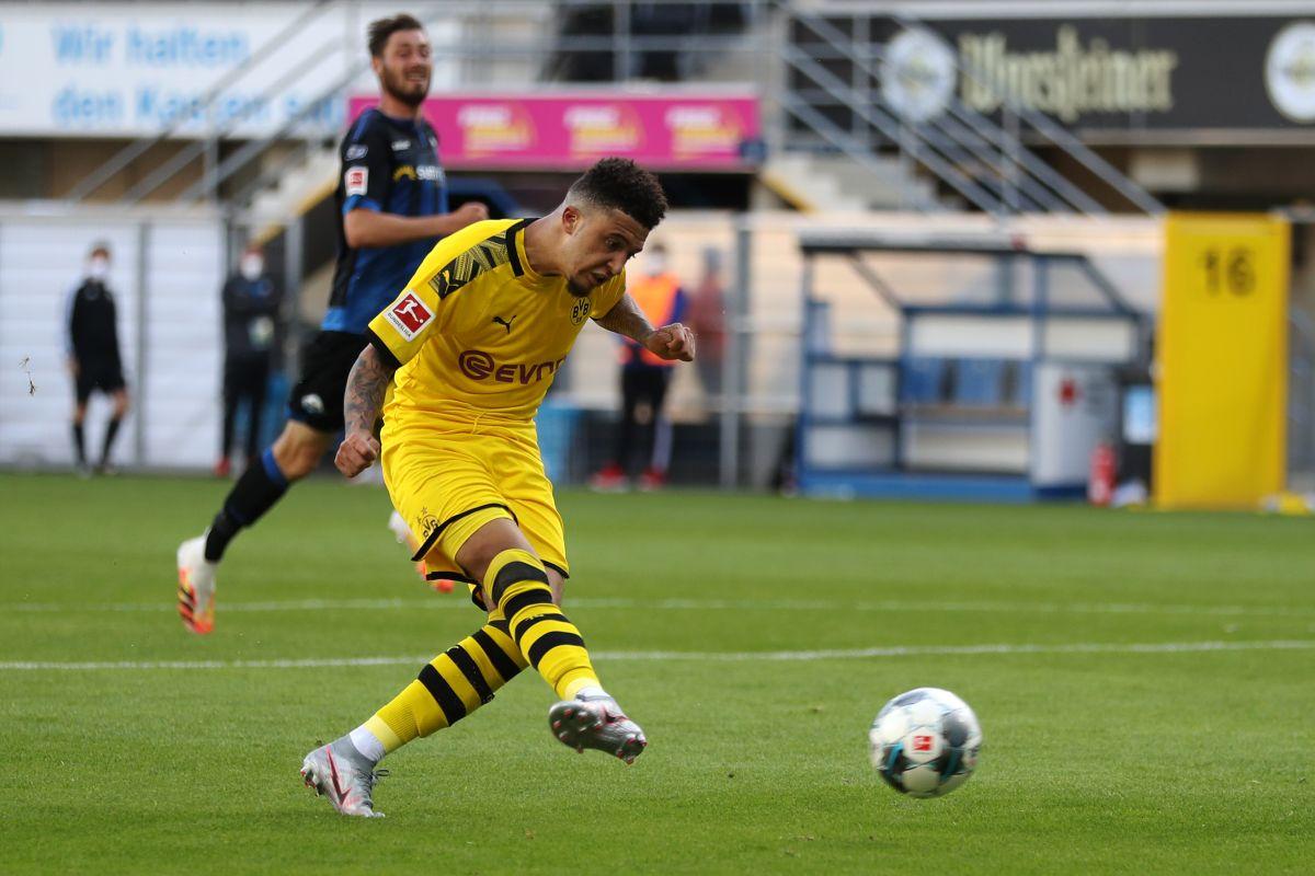 Bundesliga, Jadon Sancho, Borussia Dortmund, Paderborn,