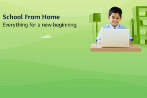 Amazon launches 'school from home' store in India