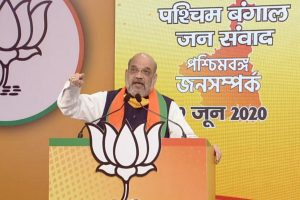 'Corona Express remark will be your exit route': Amit Shah slams Mamata at virtual Bengal campaign rally