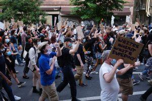 Thousands protest against Atlanta African-American man's death