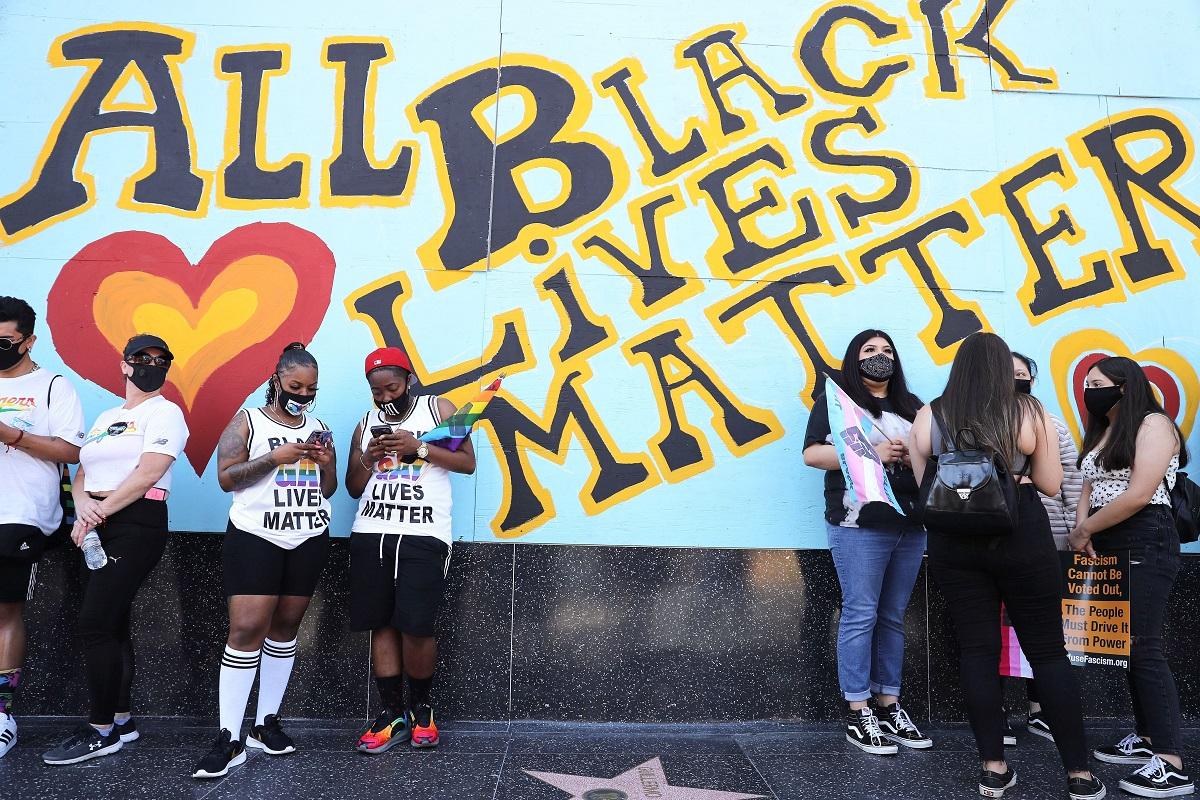 Whataboutery in outrage, black lives matter, African American reality, George Floyd
