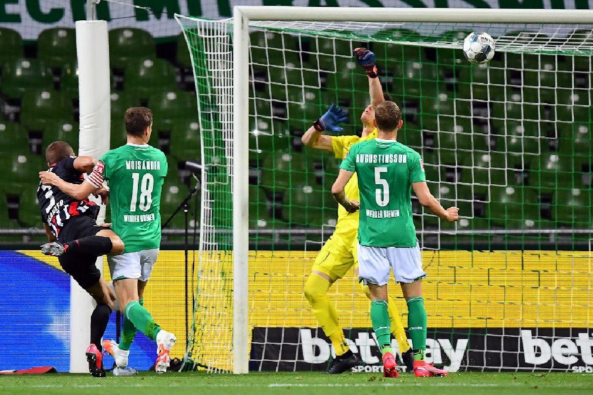 Eintracht Frankfurt, Andre Silva, Stefan Ilsanker, Bundesliga, Werder Bremen