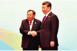 China's BRI strategy and Laos