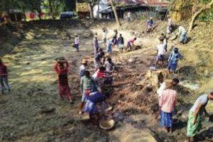 South Dinajpur migrants start work under 100 days' job scheme