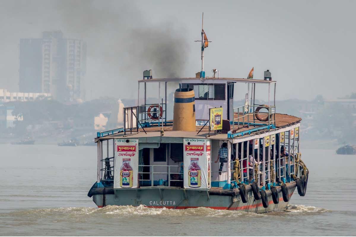 ferry services, Kolkata, Hooghly, Zila Parishad, Local train services