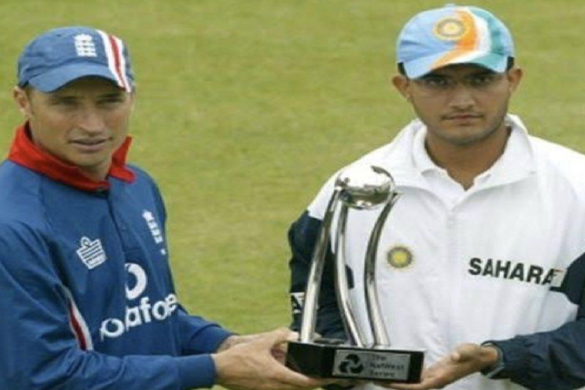 Sourav Ganguly, Nasser Hussain, BCCI President, England Cricket team, Indian Cricket team