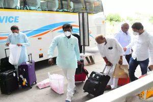 Gujarat Congress shifts 25 MLAs to Rajasthan resort to avoid poaching ahead of Rajya Sabha polls