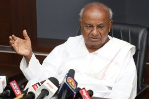 Ex-PM HD Deve Gowda to contest Rajya Sabha polls at Sonia Gandhi's 'request', file nomination tomorrow