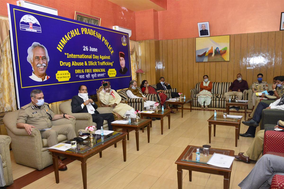 Himachal Pradesh, illicit drug, trafficking, border areas