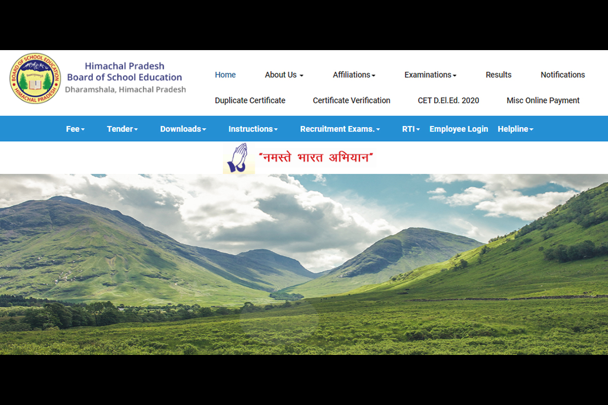 HPBOSE, Class 12 results 2020, hpbose.org, Himachal Pradesh Board of Secondary Education