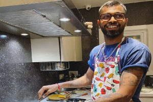'Never too late to try your hand at learning something new': Hardik Pandya turns chef