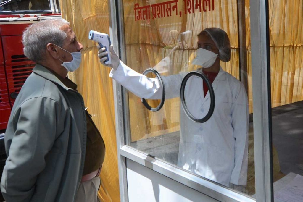 Kangra, Himachal Pradesh, COVID-19 cases, COVID-19 positive, Chief Medical Officer