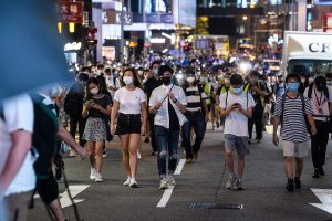 Hundreds gather in Hong Kong to mark 1 yrs of pro-democracy 'million-people' march