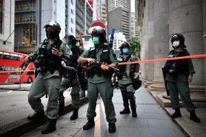 14 arrested in Hong Kong national security law demonstration