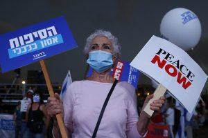 Hundreds of Israelis protest in Jerusalem against PM Netanyahu; call him 'Crime Minister'
