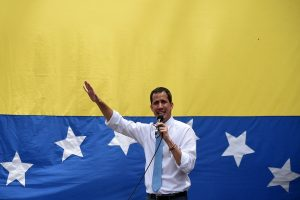 'Venezuelan opposition leader Guaido visits French embassy in Caracas', says Foreign Minister